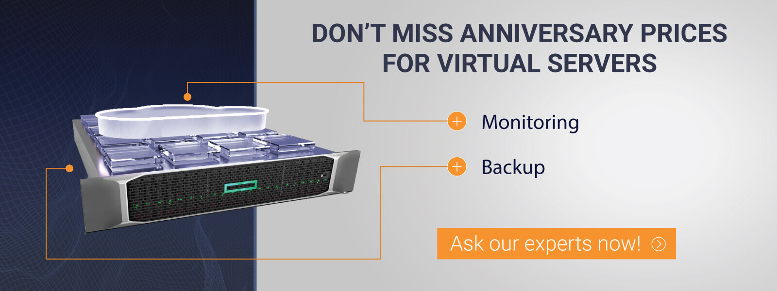 Virtual server for special prices DEAC