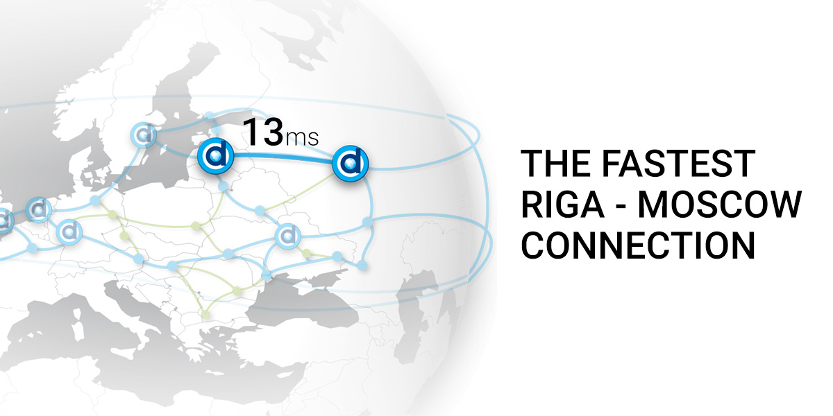 Superfast Riga-Moscow channel DEAC