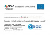 Project DEAC Participation in Conferences in the first half of 2014