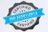 ISO 22301:2012 certified data center DEAC